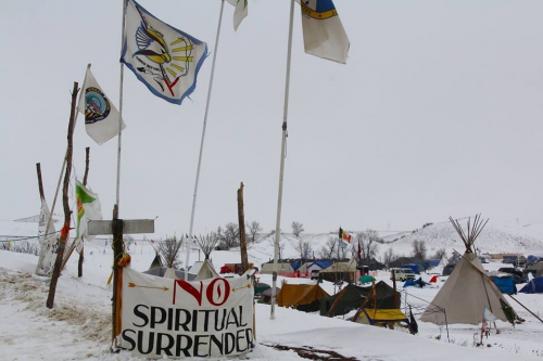 Robin Kimmerer Oceti Sakowin camp against noth dakota pipeline.jpg